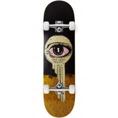 "Politic Unlocked Skateboard Complete - 8.50"" - Yellow"