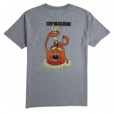 Toy Machine Sect Attack T-Shirt - Heather Grey