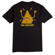 Toy Machine Pyramid T-Shirt - Black