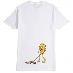 Toy Machine Sweeper T-Shirt - White