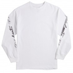 DGK X Gnarcotic Dirty Gnarcotic Kids Long Sleeve T-Shirt - White