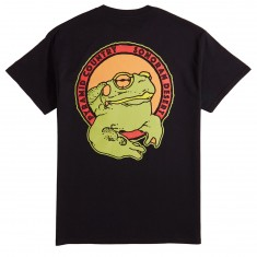 Pyramid Country Sacred Toad Pocket T-Shirt - Black/Orange/Red