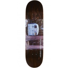"""Northern Co. Bus Skateboard Deck - 8.25"""" - Brown Stain"""