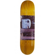 """Northern Co. Bus Skateboard Deck - 8.38"""" - Yellow Stain"""