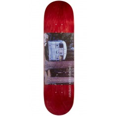"""Northern Co. Bus Skateboard Deck - 8.38"""" - Red Stain"""