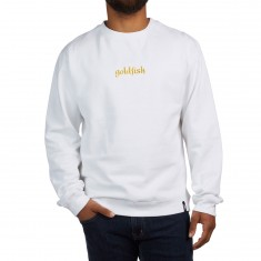 Girl Goldfish Sweatshirt - White