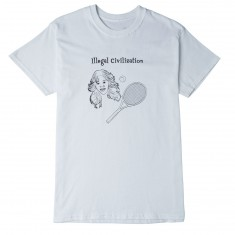 Illegal Civilization Tennis T-Shirt - White