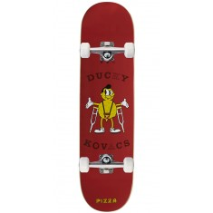 Pizza Hipster Kovacs Skateboard Complete - 8.00""