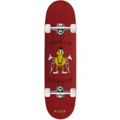 Pizza Hipster Kovacs Skateboard Complete - 8.40""