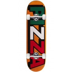 Pizza Tri Logo Skateboard Complete - Orange - 8.75""