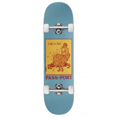 """Passport Pozter Lady In Red Skateboard Complete - 8.38"""""""