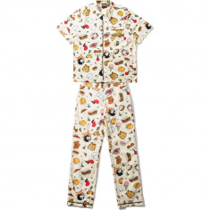 The Hundreds X Garfield Pajamas  - Pale Yellow