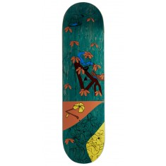 "Less Than Local Jupe Flowers Skateboard Deck - 8.25"" - Green Stain"