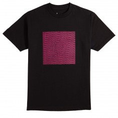 The Killing Floor Wavey T-Shirt - Black/Pink