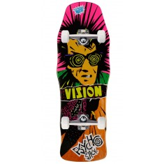 "Vision Psycho Stick Skateboard Complete - 10.00"" - Orange Stain"