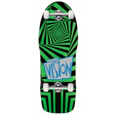"Vision The Original Skateboard Complete - 10.00"" - Black/Green"