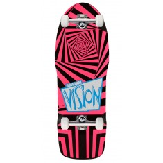 "Vision The Original Skateboard Complete - 10.00"" - Black/Pink"