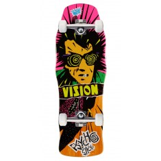 "Vision Psycho Stick Skateboard Complete - 10.00"" - Orange"