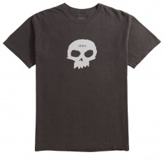 Zero Single Skull T-Shirt - Vintage Black