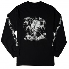 Zero Am I Demon Long Sleeve T-Shirt - Black