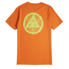 Welcome Vertigo T-Shirt - Orange/Lime