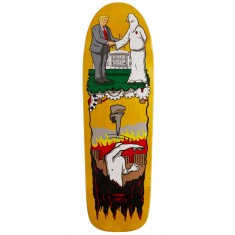 "Real Thiebaud Wrench Justice Skateboard Deck - 9.75"" - Yellow Stain"