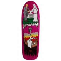 "Real Thiebaud Wrench Justice Skateboard Deck - 9.75"" - Pink Stain"