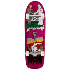 """Real Thiebaud Wrench Justice Skateboard Complete - 9.75"""" - Pink Stain"""