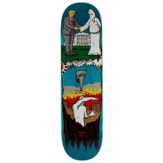 """Real Thiebaud Wrench Justice Skateboard Deck - 8.25"""" - Teal Stain"""