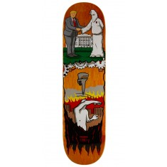 "Real Thiebaud Wrench Justice Skateboard Deck - 8.25"" - Orange Stain"