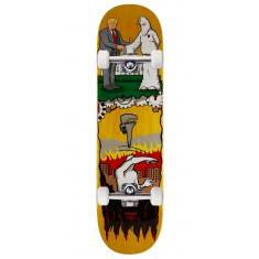 """Real Thiebaud Wrench Justice Skateboard Complete - 8.25"""" - Yellow Stain"""