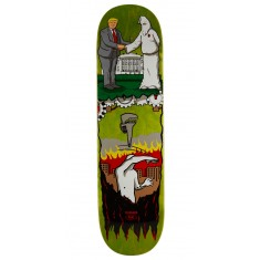 """Real Thiebaud Wrench Justice Skateboard Deck - 8.25"""" - Green Stain"""