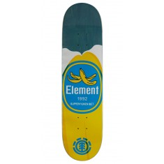 """Element You Are What You Eat Banana Skateboard Deck - 7.875"""" - Blue Stain"""