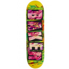 Baker Hawk Brand Name Fingerpaint Skateboard Deck - 8.47""
