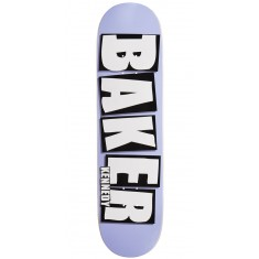 "Baker Kennedy Brand Name Skateboard Deck - 8.25"" - Purple"
