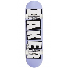 "Baker Kennedy Brand Name Skateboard Complete - 8.25"" - Purple"