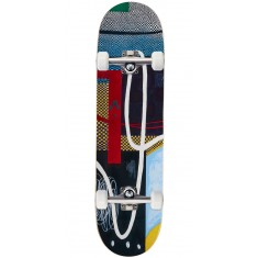 """Baker Herman Checkered Puzzle Skateboard Complete - 8.38"""""""