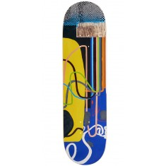 """Baker Cyril Checkered Puzzle Skateboard Deck - 8.50"""""""