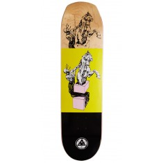 Welcome Hierophant on Helm of Awe Skateboard Deck - Yellow - 8.38""