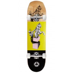 Welcome Hierophant on Helm of Awe Skateboard Complete - Yellow - 8.38""