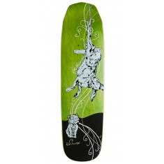 Welcome Fairy Tale on Wicked Queen Skateboard Deck - Green Stains - 8.60""