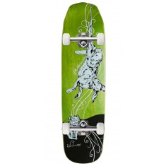 Welcome Fairy Tale on Wicked Queen Skateboard Complete - Green Stains - 8.60""