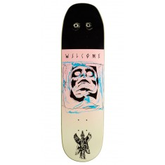 Welcome Pazuzu on Baculus Skateboard Deck - Pink/Cream - 8.75""