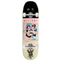 Welcome Pazuzu on Baculus Skateboard Complete - Pink/Cream - 8.75""
