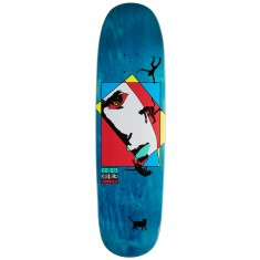 Welcome Miller Faces on Catblood Skateboard Deck - Teal Stain - 8.75""