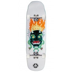 Welcome Old Nick on Sledgehammer Skateboard Complete - White - 9.00""