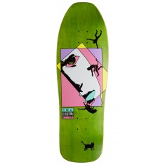 Welcome Miller Faces on Sugarcane Skateboard Deck - Green Stain - 10.00""