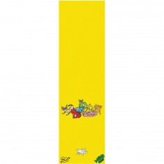 Mob x Krux Cat Party Grip Tape - Yellow