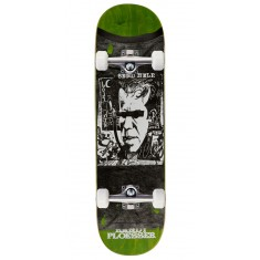 "Send Help Ploesser Favorite Shirt Skateboard Complete - 8.50"" - Green Stain"