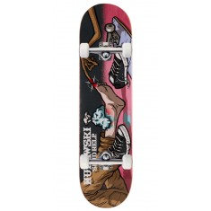 "Send Help Murawski Ouch Skateboard Complete - 8.00"" - Pink Stain"